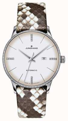 Junghans Meister Damen автоматический | бриллианты | ремни питона и ящерицы 027/4847.00