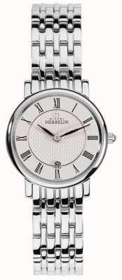 Michel Herbelin Женский эпсилон | белый циферблат | браслет из нержавеющей стали 16945/B01