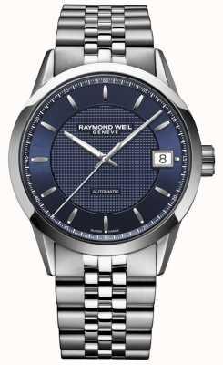 Raymond Weil Мужские | фрилансер темно-синий | автоматические часы 2740-ST-50021