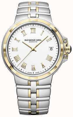 Raymond Weil Парсифаль двухцветный | золото и нержавеющая сталь | мужские часы 5580-STP-00308