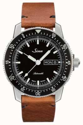 Sinn St sa i классические пилотные часы из натуральной кожи 104.010-BL50205002401A