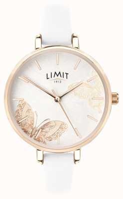 Limit | женские тайные садовые часы | циферблат белой бабочки | 60013