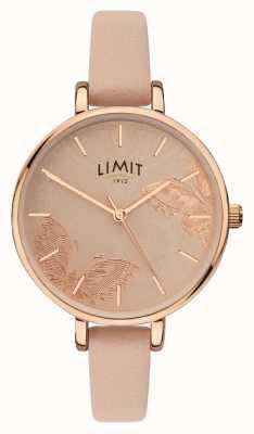 Limit | женские тайные садовые часы | персиковая бабочка циферблат | 60014