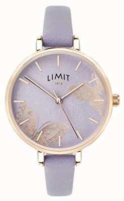 Limit | женские тайные садовые часы | фиолетовый циферблат бабочки | 60015