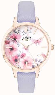 Limit | женские тайные садовые часы | розовый и белый циферблат | фиолетовый strp 60022
