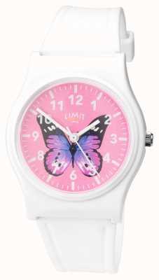 Limit | женские тайные садовые часы | розовая бабочка циферблат | 60030.37
