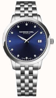 Raymond Weil Женская токката | синий циферблат | браслет из нержавеющей стали 5988-ST-50081