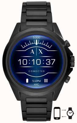 Armani Exchange Дрекслер черный | нержавеющая сталь | умные часы AXT2002