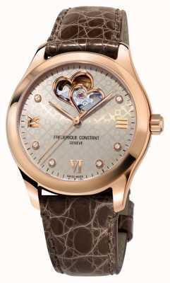 Frederique Constant | женская | сердце автоматическое | розовое золото FC-310LGDHB3B4