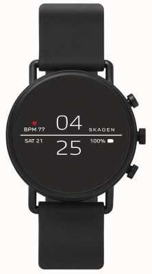 Skagen Подключил SmartWatch черный силикон SKT5100