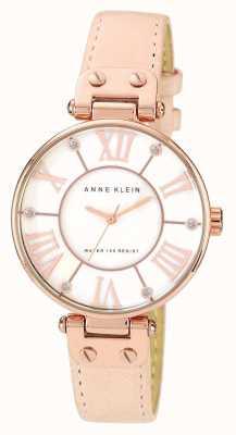 Anne Klein | женские фирменные часы | обнаженная кожа | 10-N9918RGLP