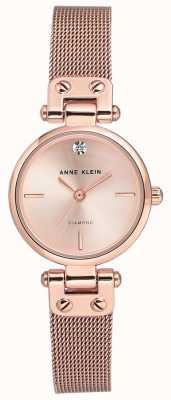 Anne Klein | женские кабельные часы | розовое золото тон | AK-N3002RGRG