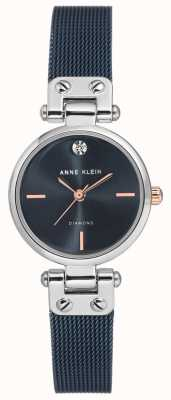Anne Klein | женские кабельные часы | военно-морской тон | AK-N3003BLRT