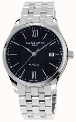 Frederique Constant Мужские индексные слим автоматические часы FC-303BN5B6B