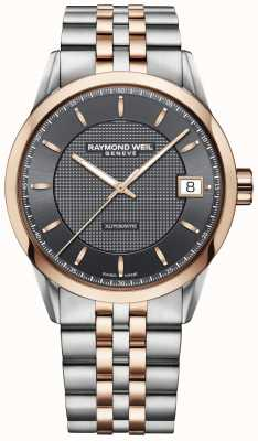 Raymond Weil | мужские часы фрилансера | нержавеющая сталь и розовое золото | 2740-SP5-60021