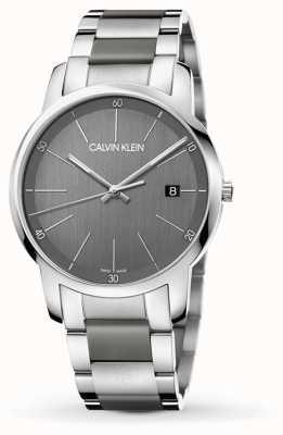 Calvin Klein | мужские часы расширения города | двухцветная нержавеющая сталь | K2G2G1P4