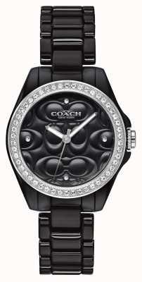 Coach | современные спортивные часы | черное лицо | черный ремешок | 14503255