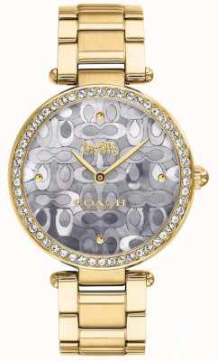 Coach | женские часы парк | двухцветное серебро и золото | 14503222