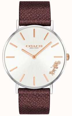 Coach | женские часы Perry | красный кожаный ремешок | 14503154