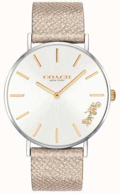 Coach | женские часы Perry | кремовый ремешок | 14503157