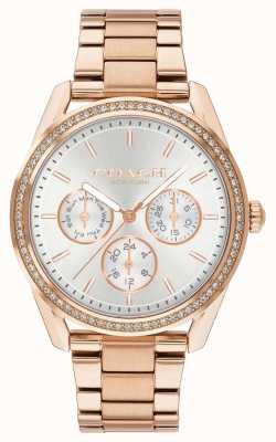 Coach | Престон часы | хронограф из розового золота из нержавеющей стали | 14503267