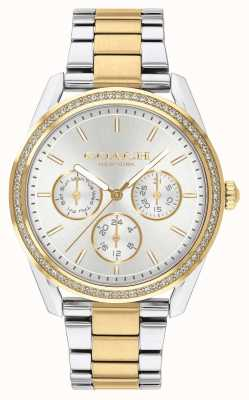 Coach | Престон часы | хронограф двухцветный серебряный и золотой | 14503268
