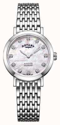 Rotary | женские перламутровые часы | LB05300/07/D