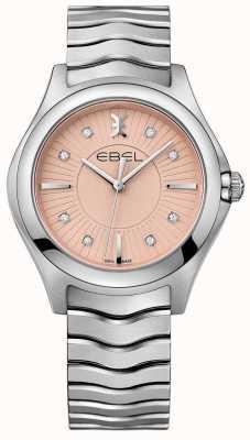 EBEL Волна браслет из нержавеющей стали розовый циферблат 1216303
