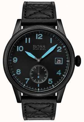 Hugo Boss | черное мужское наследие | черная нержавеющая сталь | 1513672