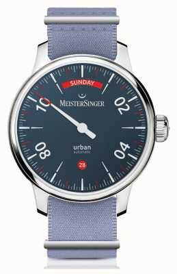 MeisterSinger Городской день свидание | часы с двумя ремешками | URDD908