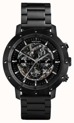 Weird Ape Icarus 3 набрать все часы черный / черный браслет WA02-005700