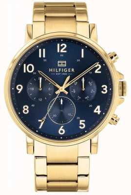 Tommy Hilfiger | мужские золотые и морские часы daniel | 1710384