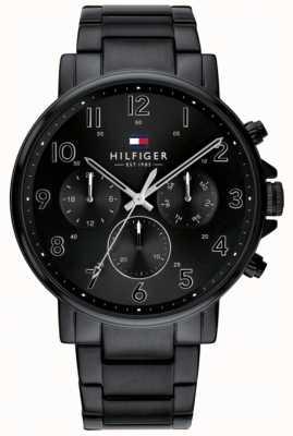 Tommy Hilfiger | мужские черные часы Даниэль | 1710383