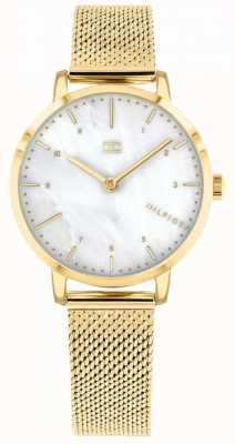 Tommy Hilfiger женские часы из лилии с золотой сеткой | 1782043