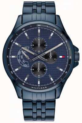 Tommy Hilfiger | мужские часы с голубым браслетом shawn | 1791618