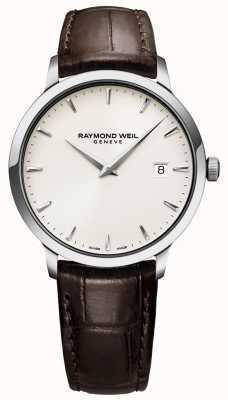 Raymond Weil | мужские коричневые кожаные часы токката | 5488-STC-40001