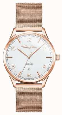Thomas Sabo | браслет из розового золота из нержавеющей стали | белый циферблат | WA0341-265-202-40