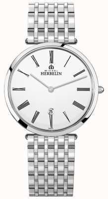 Michel Herbelin | мужские | эпсилон | экстра-плоский браслет из нержавеющей стали | 19416/B01N