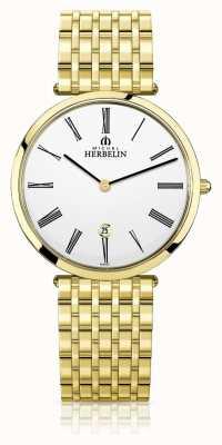 Michel Herbelin | мужские | эпсилон | экстра-плоский золотой браслет из пвд | 19416/BP01N