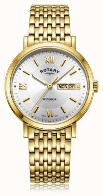 Rotary   гентский позолоченный браслет   GB05303/09