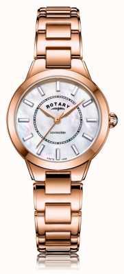 Rotary | женский браслет из розового золота | LB05379/41