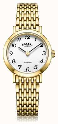 Rotary | женский позолоченный браслет | LB05303/18