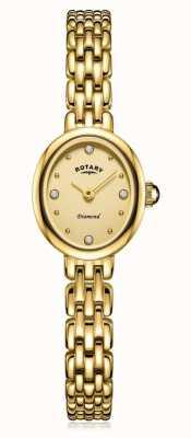 Rotary | женский позолоченный браслет | LB05151/03/D