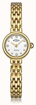Rotary   женский позолоченный браслет   LB05153/02/D