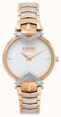 Versus Versace | женский двухцветный браслет | белый циферблат | VSPLH0719