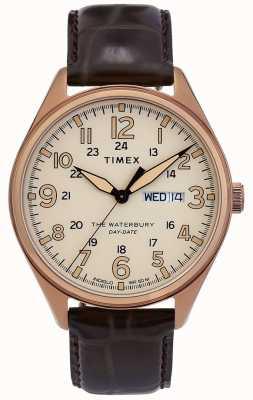 Timex | Уотербери | традиционный | день свидания смотреть | TW2R89200D7PF
