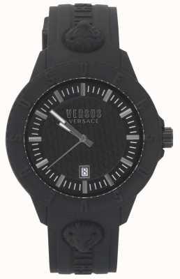 Versus Versace | женские черные часы | силиконовый ремешок | VSPOY2318