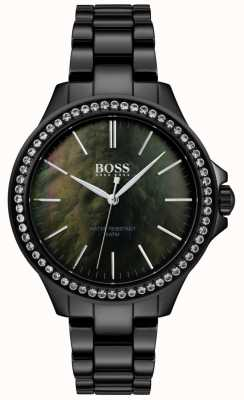 BOSS | женские черные часы из нержавеющей стали | 1502456