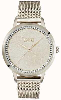 Boss   женский браслет из бледно-розового золота   1502464