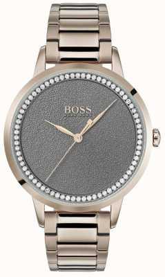 BOSS | женские сумеречные часы | нержавеющая сталь | серый циферблат | 1502463